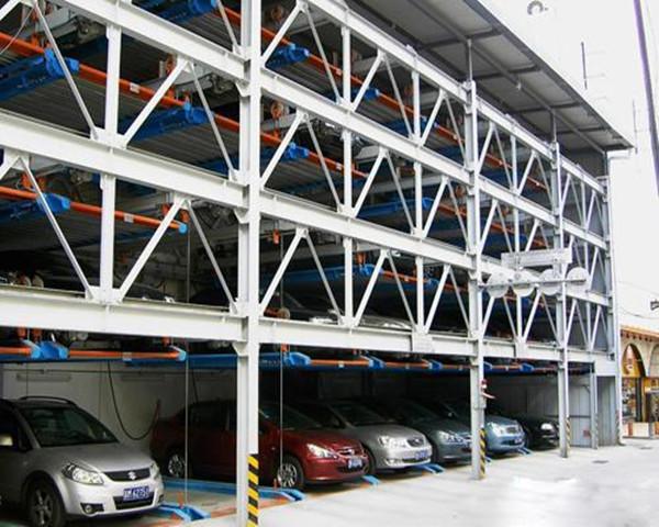 钢结构立体车库设计